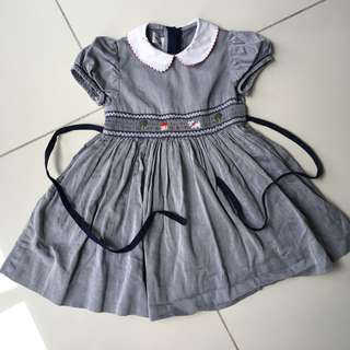 Familiar Japan girl smock dress