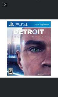 PS4 Detroit Become Human (R3)