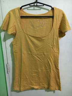 Kamiseta yellow top