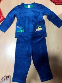Velvet Jacket for 18 months - 24 months old