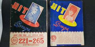 Hit Songs books of 1949's to 1950's