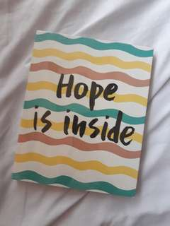 Hope is Inside Pinterest Wall Art
