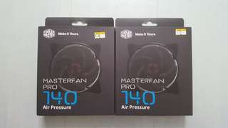 Cooler Master - master fan pro 140 air pressure