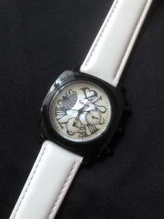 Savina ladies quartz watch with Austrian Rhinestones