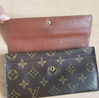 Louis Vuitton Sarah Wallet 6cc