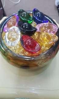 古法琉璃聚宝盆