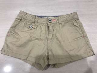 Zara kids cream short pants
