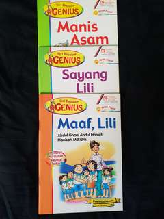 Buku Cerita Melayu; Siri Bacaan Genius