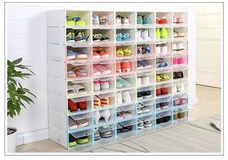 Drawer Style Shoes Storage Box (12 units)