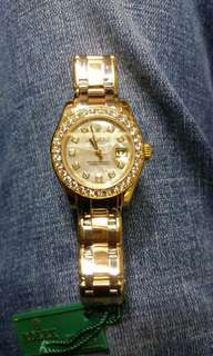 Rolex full gold 95 %good