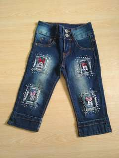 Girl jeans 5 years old