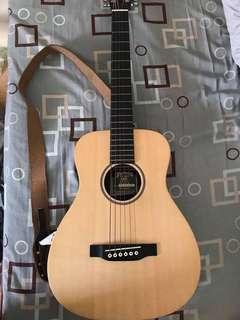 旅行吉他Martin lx1e