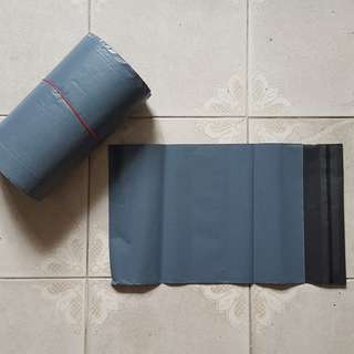 Black Matte Polymailer 100pc