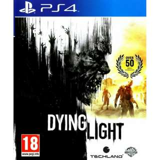 PS4 Dying Light R3