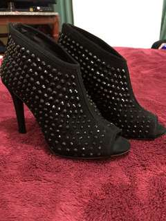 Michael kors dani open toe studded boot
