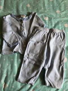 (Buy 2 get 1 Free) baby sleepwear - 3 months