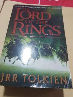 JRR Tolkien Lord Of The Rings Trilogy