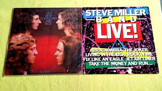 Pding STEVE MILLER BAND . live! ● SLADE . old new borrowed and blue ( buy 1 get 1 free )   Vinyl record