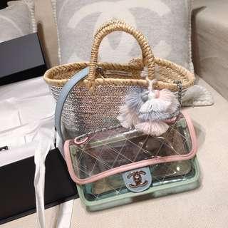 🚚 CHANEL pvc bag 2018 春夏新品搶手貨