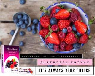 6 Boxes Pure Berry Enzyme (HURRY UP!!! Buy More Get More Cheaper)