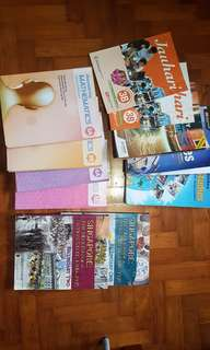 Secondary school express textbooks