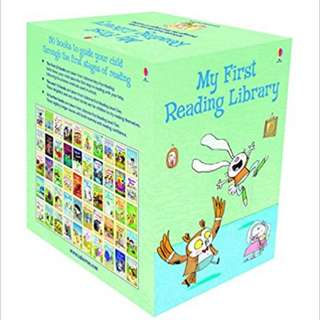 🚚 Two sets of urborne phonics readers - 20 books and 50 books