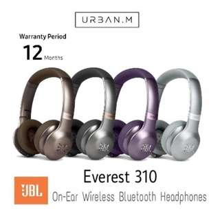 JBL Everest 310 On-Ear Wireless Bluetooth Headphones