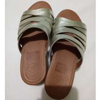 Brand New Fitflop Leather Sandals