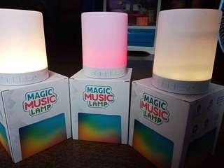 Magic Music Lamp ( Bluetooth Speaker)