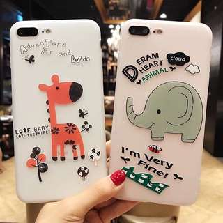 Phone Case 3D Sillicone Untuk iPhone, Vivo, Xiaomi