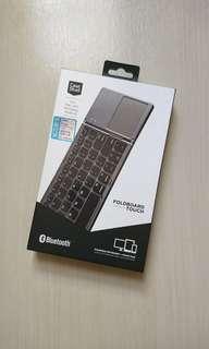 CaseStudi 摺疊式手提藍芽keyboard連touchpad