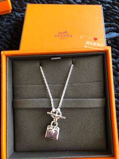 全新Hermes Birkin Amulette Pendant 925 Silver $4080 Full set with copy receipt  Please inbox💌for more details❤️ Thanks😘