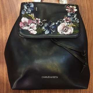 Sale!!! Authentic Charles & Keith Backpack Bag