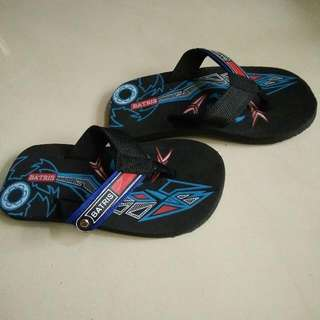 sandal jepit anak laki size 26 panjang alas sandal 19