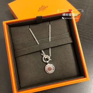 Hermes 全新 Clou De Selle Amulette Pendant 925 Silver $3580  Full set with copy receipt  Please inbox💌for more details❤️ Thanks😘