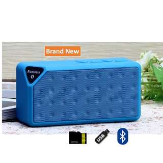 🚚 Wireless Speaker (Bluetooth, USB drive, TF-Card)