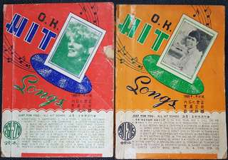 Hit Songs books of the 60's