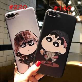 Phone Case 3D Sillicone Untuk iPhone, Samsung, Xiaomi