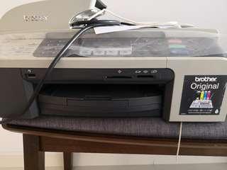 Brother Printer fax copy