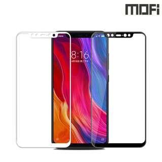 小米8 Xiaomi 8 MOFI 3D曲面鋼化玻璃膜 全屏覆蓋強化玻璃貼 0783A