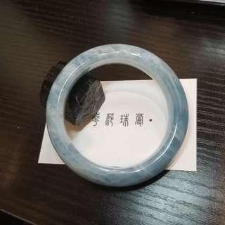 【海藍寶手鐲 55.7mm】