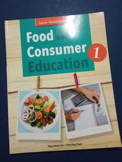 Food and consumer education book 1