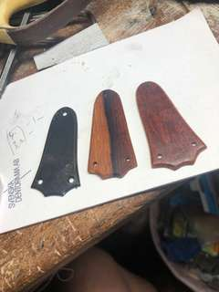 Custom Made Taylor GS truss rod covers
