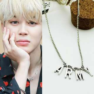 BTS Jimin Inspired Army Necklace