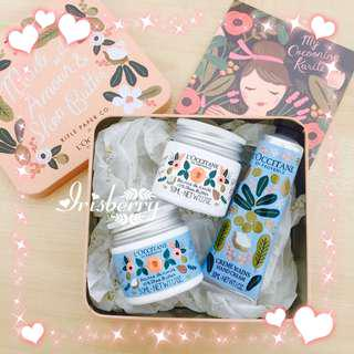 BN L'occitane Rifle Paper Co Special Limited Edition Packaging Shea Butter Gift Free Postage