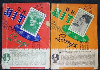 Hit Songs books of the 60