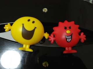 Collectible - Mr Happy and Mr Stubborn characters *Brand new*