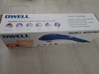 Owell accutap brand new (nt oto, osim, massage)