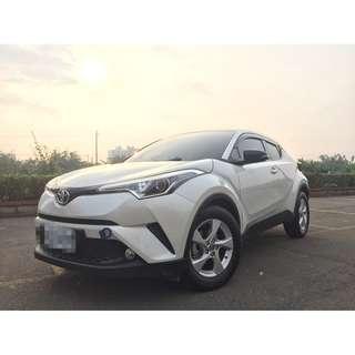 <小馬愛車> 2017 Toyota CHR 1.2 白