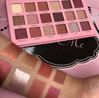 Beauty Creations tease me eyeshadow palette